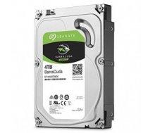 "HDD | SEAGATE | Barracuda | 4TB | SATA 3.0 | 256 MB | 5400 rpm | Discs / Heads 2 / 4 | 3,5"" | ST4000DM004"