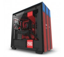 Case | NZXT | H700 PUBG | MidiTower | Not included | ATX | EATX | MicroATX | MiniITX | Colour Black / Red | CA-H700B-PG