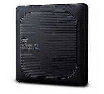 External HDD   WESTERN DIGITAL   My Passport Wireless Pro   2TB   USB 3.0   Buffer memory size 256 MB   SD Card Slot 1   Colour Black   WDBP2P0020BBK-EESN