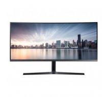 "LCD Monitor | SAMSUNG | C34H890 | 34"" | Business / Curved / 21 : 9 | Panel VA | 3440x1440 | 21:9 | 100Hz | 4 ms | Swivel | Height adjustable | Tilt | LC34H890WJUXEN"