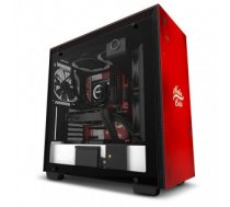 Case | NZXT | H700 Nuka-Cola | MidiTower | Not included | ATX | EATX | MicroATX | MiniITX | Colour Black / Red | CA-H700B-NC