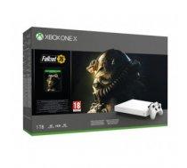 CONSOLE XBOX ONE X 1TB / GAME FALLOUT 76 MICROSOFT