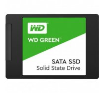 "SSD | WESTERN DIGITAL | Green | 480GB | SATA 3.0 | TLC | Read speed 545 MBytes / sec | 2,5"" | MTBF 1000000 hours | WDS480G2G0A"