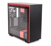 Case | NZXT | H700i | MidiTower | Not included | ATX | EATX | MicroATX | MiniITX | Colour Black / Red | CA-H700W-BR