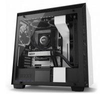 Case | NZXT | H700i | MidiTower | Not included | ATX | EATX | MicroATX | MiniITX | Colour Black / White | CA-H700W-WB