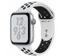 Apple Watch Nike+ Series 4 GPS, 40mm Silver Aluminium Case with Pure Platinum
