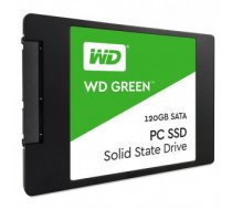 SSD | WESTERN DIGITAL | Green | 120GB | SATA 3.0 | TLC | Read speed 545 MBytes / sec | 2,5"