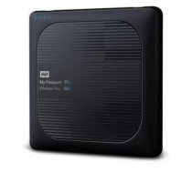 External HDD   WESTERN DIGITAL   My Passport Wireless Pro   1TB   USB 3.0   Buffer memory size 256 MB   SD Card Slot 1   Colour Black   WDBVPL0010BBK-EESN