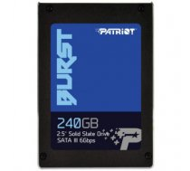 "SSD SATA2.5"" 240GB / BURST PBU240GS25SSDR PATRIOT"