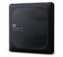 External HDD   WESTERN DIGITAL   My Passport Wireless Pro   4TB   USB 3.0   Buffer memory size 256 MB   SD Card Slot 1   Colour Black   WDBSMT0040BBK-EESN