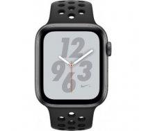 Apple Watch Series 4 Sport 40mm (GPS only) Nike Plus Aluminium Grey Sport Band Black