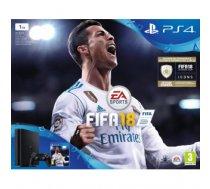 Sony Playstation 4 Slim 1TB + FIFA 18 + Playstation Plus 14 days - after tests