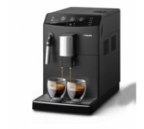 Philips 3000 series Espresso machine HD8827/09 Built-in milk frother, Fully automatic, 1850 W, Black HD8827/09