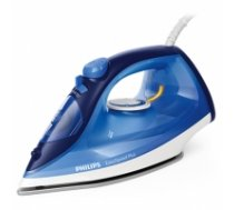 Philips Iron EasySpeed Plus  Blue, 2100 W, Steam iron, Continuous steam 30 g/min, Steam boost performance 110 g/min, Anti-drip function, Anti-scale system, Vertical steam function, Water tank capacity 270 ml GC2145/20