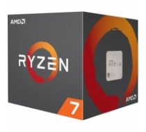 AMD Ryzen 7 2700X, 3.7 GHz, AM4, Processor threads 16, Packing Retail, Cooler included, Processor cores 8, Component for PC YD270XBGAFBOX