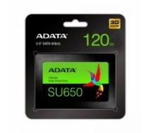 Dysk SSD Ultimate SU650 120G 2.5 S3 3D TLC Retail  ASU650SS-120GT-R