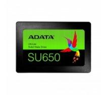 ADATA 2.5'' SSD Ultimate SU650 120GB SATA3 R/W:520/450 MB/s retail ASU650SS-120GT-R