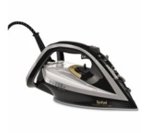 TEFAL Turbo Pro Iron FV5655E0 Grey/ black, 2600 W, Steam iron, Continuous steam 50 g/min, Steam boost performance 220 g/min, Anti-drip function, Anti-scale system, Vertical steam function, Water tank capacity 300 ml FV5655E0