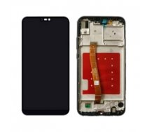 Huawei Screen LCD Huawei P20 Lite (black) (service pack: with frame and bat