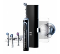 Oral-B Toothbrush Genius 10100S  For adults, Rechargeable, Teeth brushing modes 6, Number of brush heads included 4, Black GENIUS 10100S BLACK