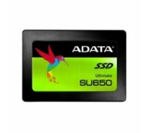 "ADATA Ultimate SU650 ASU650SS-240GT-R 240 GB, SSD form factor 2.5"", SSD interface SATA, Write speed 450 MB/s, Read speed 520 MB/s ASU650SS-240GT-R"
