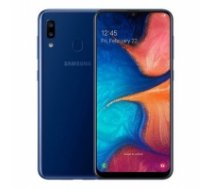 "Samsung Galaxy A20e Blue, 5.8 "", PLS TFT, 720 x 1560, Exynos 7884, Internal RAM 3 GB, 32 GB, microSD, Dual SIM, Nano-SIM, 3G, 4G, Main camera Dual 13+5 MP, Secondary camera 8 MP, Android, 9.0, 3000 mAh SM-A20E BLUE-"