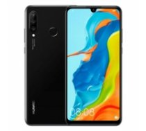 "Huawei P30 Lite Black, 6.1 "", IPS LCD, 1080 x 2312 pixels, Octa-core, Internal RAM 4 GB, 128 GB, microSD, Dual SIM, Nano-SIM, 3G, Main camera Dual 24+8 MP, Secondary camera 2 MP, Android, 9.0, 3340 mAh P30 LITE/BLACK/"
