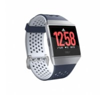 Fitbit Smart watches Ionic Adidas edition Navy/White, 24/7, Touchscreen, Bluetooth, Heart rate monitor, GPS (satellite), Waterproof FB503WTNV