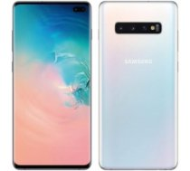 "Samsung Galaxy S10 Prism White, 6.1 "", Dynamic AMOLED, 1440 x 3040, Internal RAM 8 GB, 128 GB, microSD, Dual SIM, Nano-SIM, 3G, 4G, Main camera 12+16+12 MP, Secondary camera 10 MP, Android, 9.0, 3400 mAh S10 PRISM WHITE/"