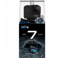 GoPro Hero7 2 year(s), Wi-Fi, Touchscreen, Bluetooth, Full HD, Black, Built-in display, Built-in microphone, Waterproof CHDHX-701