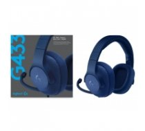 Logitech G433 7.1 Wired Surround Gaming Headset - Blue (PS4, Xbox One, Switch, PC) 981-000687