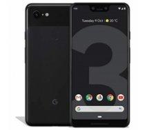 "google Pixel 3 XL Black, 6.3 "", P-OLED, 1440 x 2960, Qualcomm, Snapdragon 845, Internal RAM 4 GB, 128 GB, Single SIM, Nano-SIM card and eSIM, 4G, Main camera 12.2 MP, Secondary camera Dual 8+8 MP, Android, 9.0, 3430 mAh PIXEL 3 XL/BLACK"