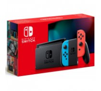 Nintendo Switch with Neon Red and Blue Joy-Con - Updated Version KABAA/2