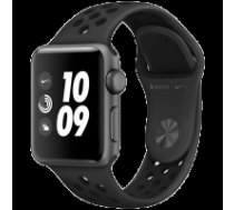 Apple Watch Nike+ Series 3 GPS, 38mm Space Grey Aluminium Case with Anthracite/Black Nike Sport Band, Model A1858 MTF12EL/A