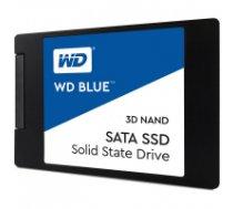 """SSD WD Blue (2.5"""", 250GB, SATA III 6 Gb/s, 3D NAND Read/Write: 550 / 525 MB/sec, Random Read/Write IOPS 95K/81K) WDS250G2B0A"""