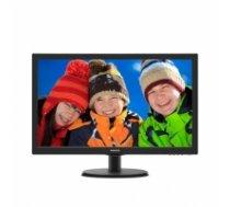 """Philips 223V5LHSB2/00 21.5 """", TN, FHD, 1920 x 1080 pixels, 16:9, 5 ms, 200 cd/m², Black, HDMI, VGA 223V5LHSB2/00"""