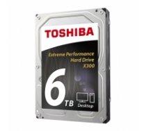 Toshiba X300 6TB 7200 RPM, 6000 GB, 3.5 inch, HDD, 128 MB HDWE160EZSTA
