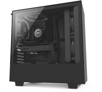 NZXT H500 Overwatch ATX Mid Tower Chassis with 2 x 120 mm Aer F case version fans, cable management system and tempered glass window CA-H500B-OW
