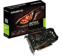 GTX 1050Ti 4GB Gigabyte OC 4G - Dual Slot - 2Fan 1xDVI/1xDP/1xHDMI GV-N105TOC-4GD GV-N105TOC-4GD