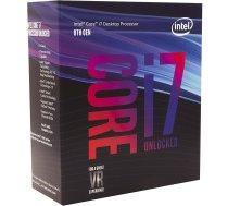 Intel S1151 CORE i7 8700K BOX 6x3,7 95W WOF BX80684I78700K BX80684I78700K