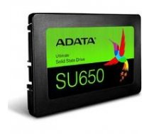 "ADATA ADATA SU650SS 240GB SSD, 2.5"" 7mm, SATA 6Gb/s, Read/Write: 520 / 450MB/s Random Read/Write IOPS 40K/75K 