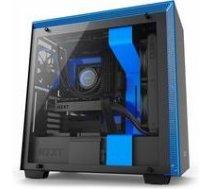 NZXT CASE MIDITOWER ATX W/O PSU/BLACK/BLUE H700 NZXT   231886    5060301694174