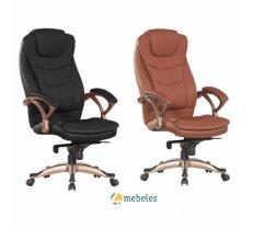 Birojam Biroja krēsls Q-065 melns/bronze
