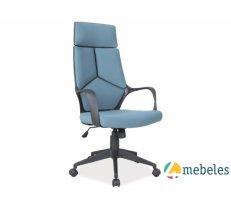 Birojam Biroja krēsls Q-199NC Zils/melns rāmis
