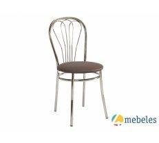 Virtuvei Krēsls V-1 krēma/brūna/melna.