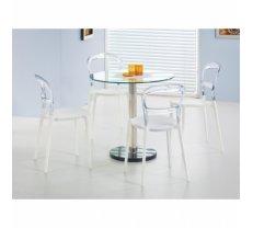 Virtuvei CYRYL galds  + 4 krēsli K100