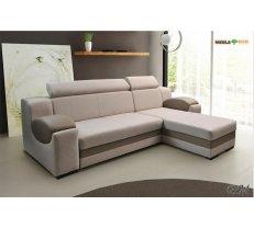 Mīkstās mēbeles MADRYT izvelkamais stūra dīvāns