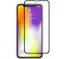 Swissten Ultra Durable 3D Japanese Tempered Glass Premium 9H Aizsargstikls Apple iPhone XR Melns | SW-JAP-T-3D-IPHXR-BK  | 8595217496460