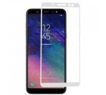 Swissten Ultra Durable 3D Japanese Tempered Glass Premium 9H Aizsargstikls Samsung A600 Galaxy A6 (2018) Balts | SW-TG-3D-A600-WH  | 8595217457928