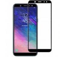 Swissten Ultra Durable 3D Japanese Tempered Glass Premium 9H Aizsargstikls Samsung A600 Galaxy A6 (2018) Melns | SW-TG-3D-A600-BK  | 8595217457935